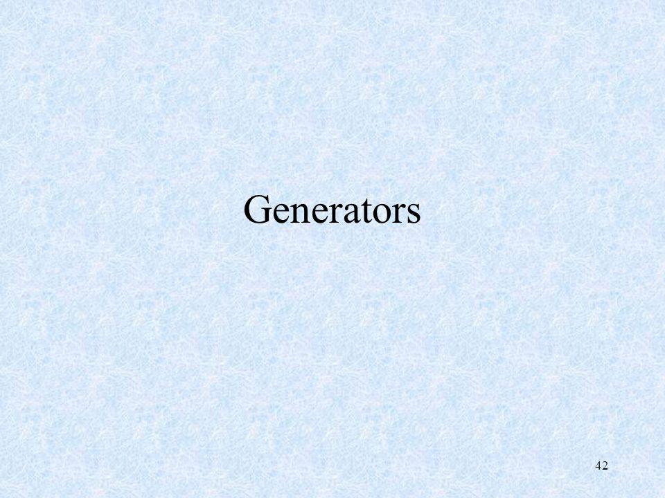 42 Generators
