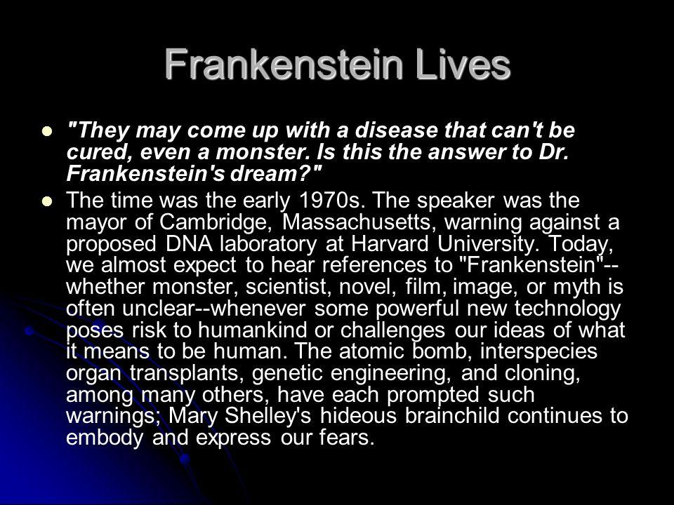 Frankenstein Lives