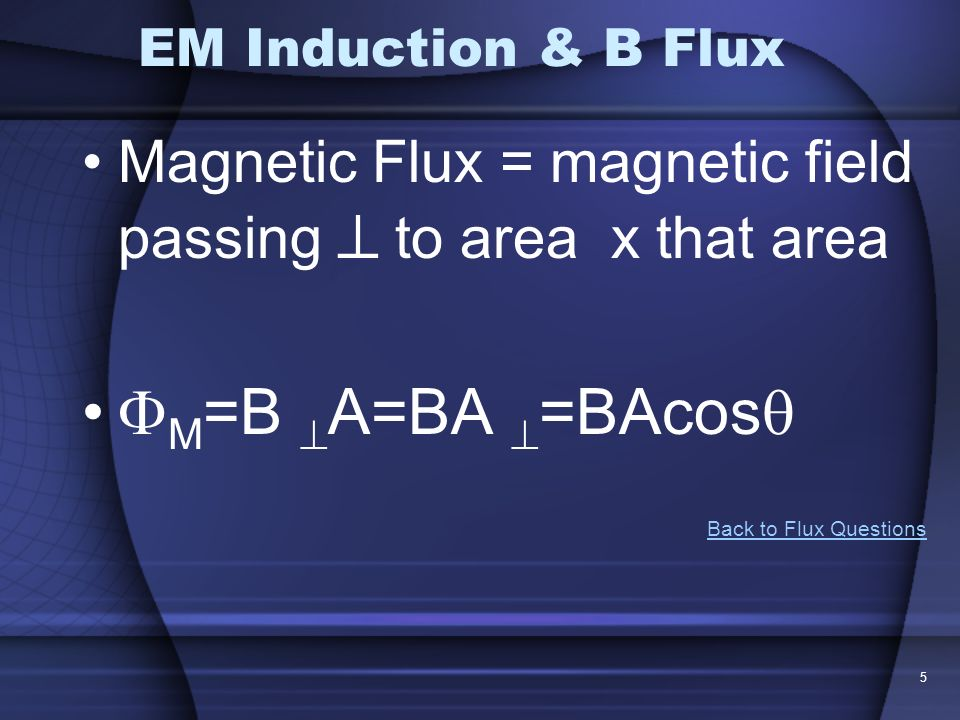 6 Flux Check The graph shows the magnitude B of a uniform magnetic field that is perpendicular to the plane of a conducting loop.