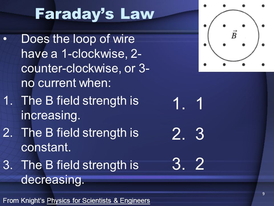 10 Flux, Faraday & Lenz Two loops of wire are vertically stacked as shown in the diagram.