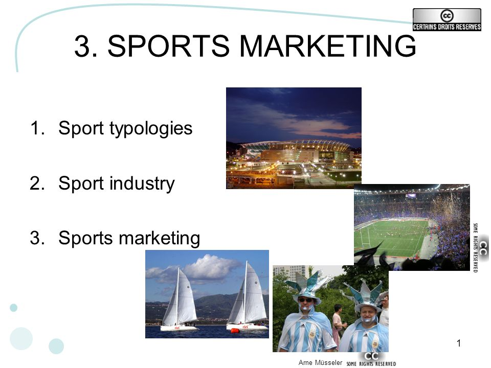 22 GAME 5 Make your own typology of sport industries What criteria did you choose? Why ?