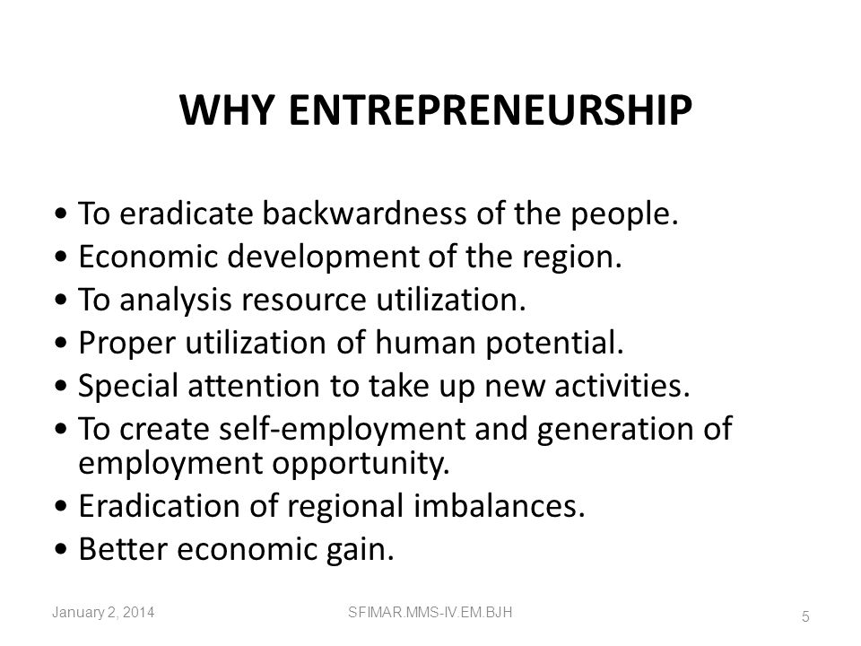 Socio-psychological & Economic Perspective of Entrepreneurship Sociologists analyze the characteristic of entrepreneurs in terms of caste, family, soc