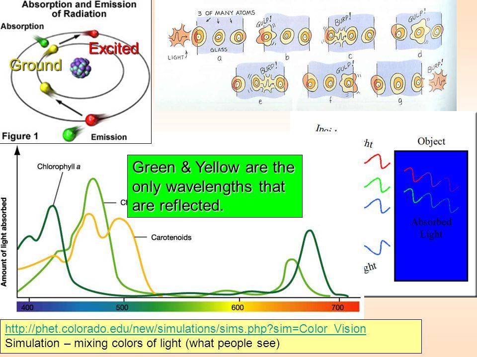 http://phet.colorado.edu/new/simulations/sims.php?sim=Color_Vision http://phet.colorado.edu/new/simulations/sims.php?sim=Color_Vision Simulation – mix
