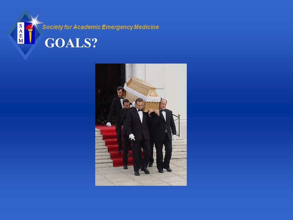 Society for Academic Emergency Medicine GOALS