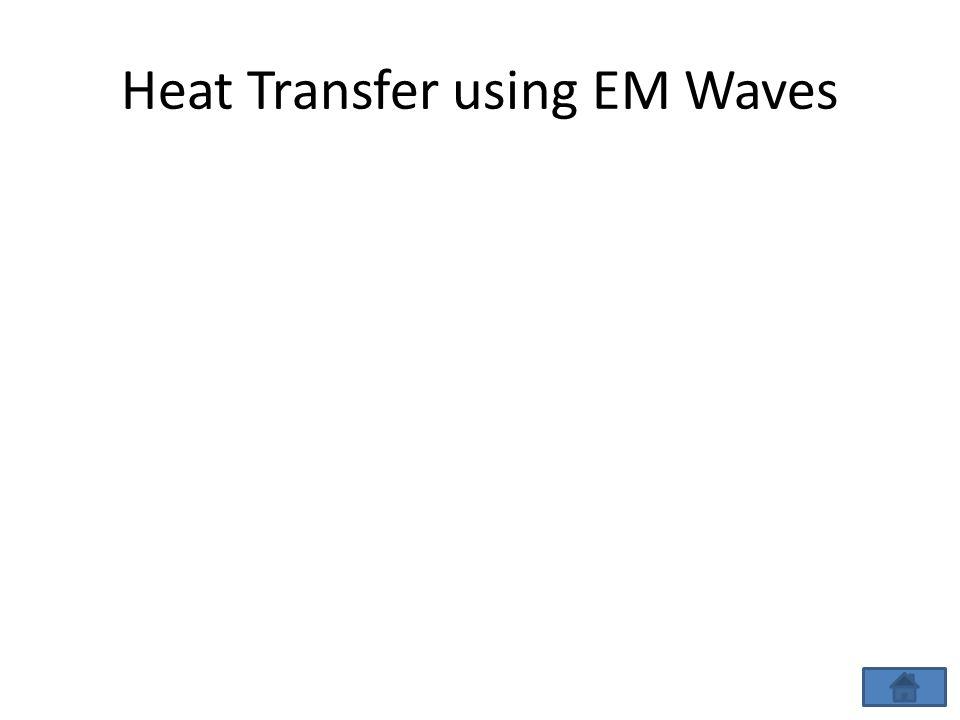 Heat Transfer using EM Waves