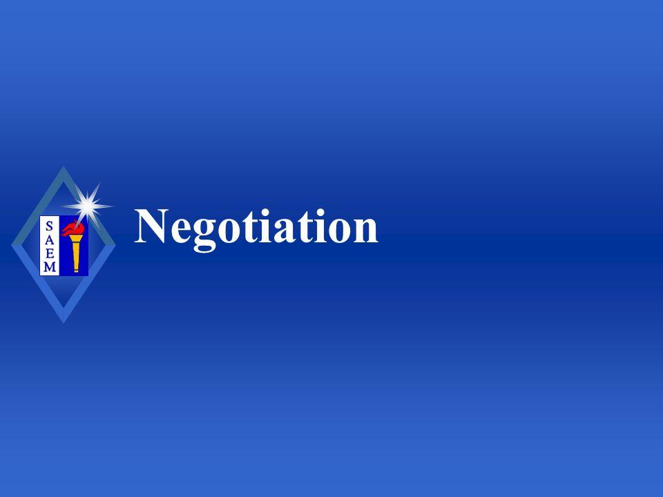 Negotiation