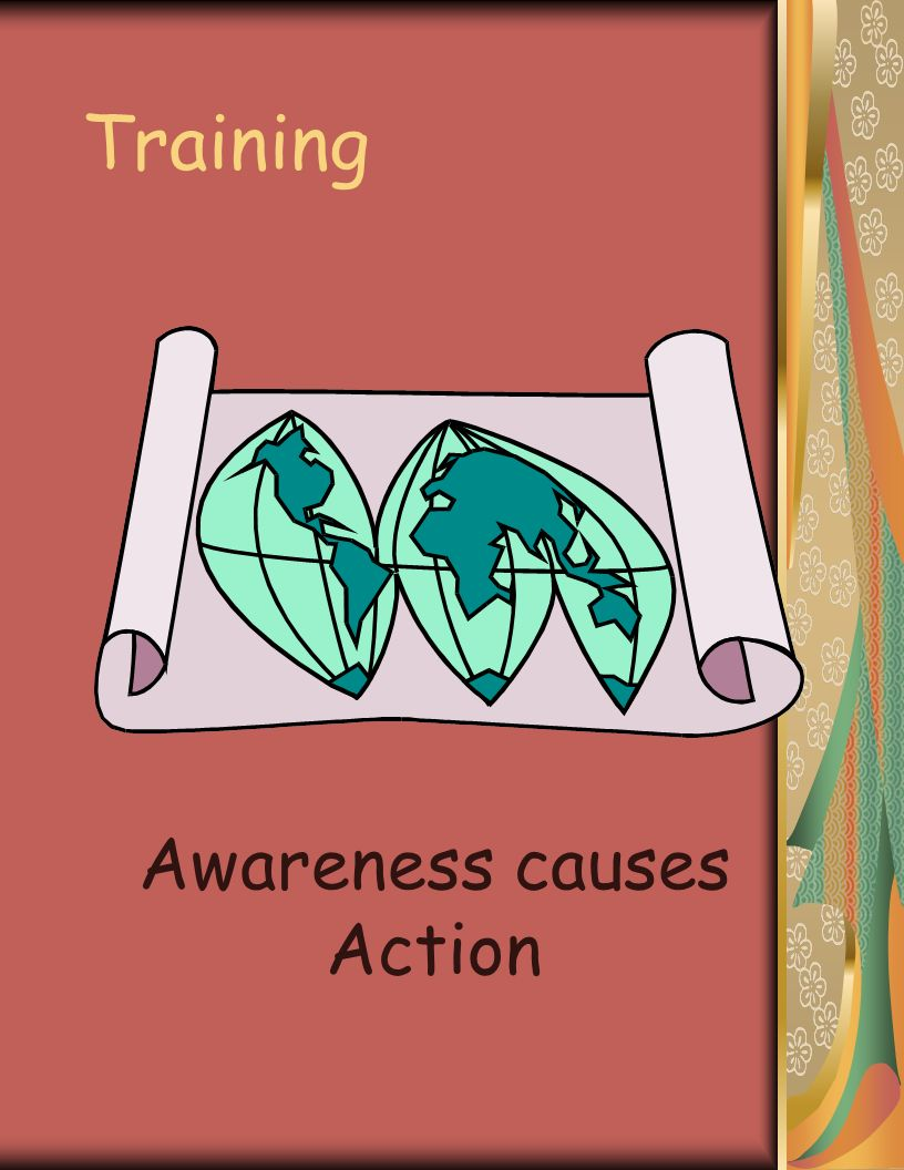 Training Awareness causes Action