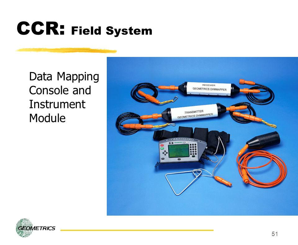 51 CCR: Field System Data Mapping Console and Instrument Module