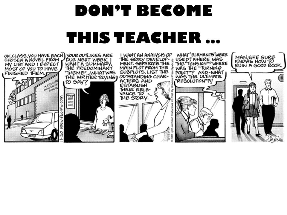 DONT BECOME THIS TEACHER …