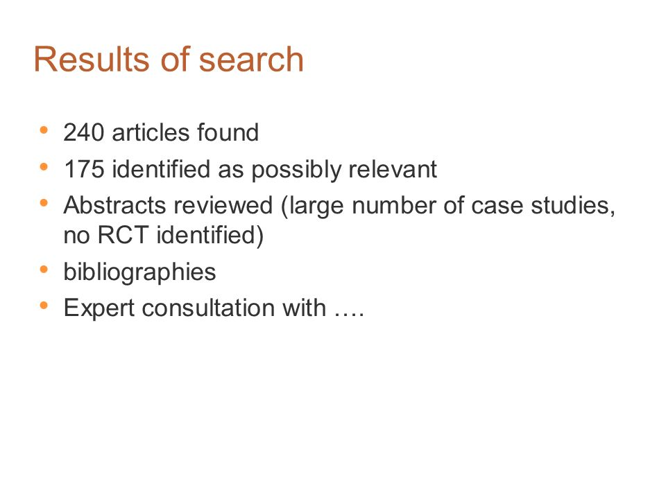 Search Methodology Medline 1966 - current Wolters Kluwer | OvidSP