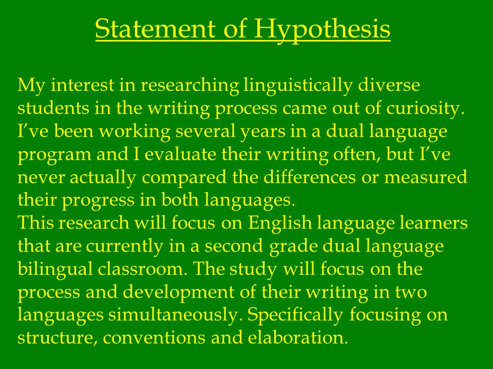 Review of Related Literature (contd) Bilingual Writing Development Very little research has been done on English language learners writing development