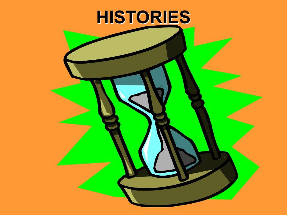 HISTORIES Henry IV, part 1 Henry IV, part 2 Henry V Henry VI, part 1 Henry VI, part 2 Henry VI, part 3 Henry VIII King John Richard II Richard III