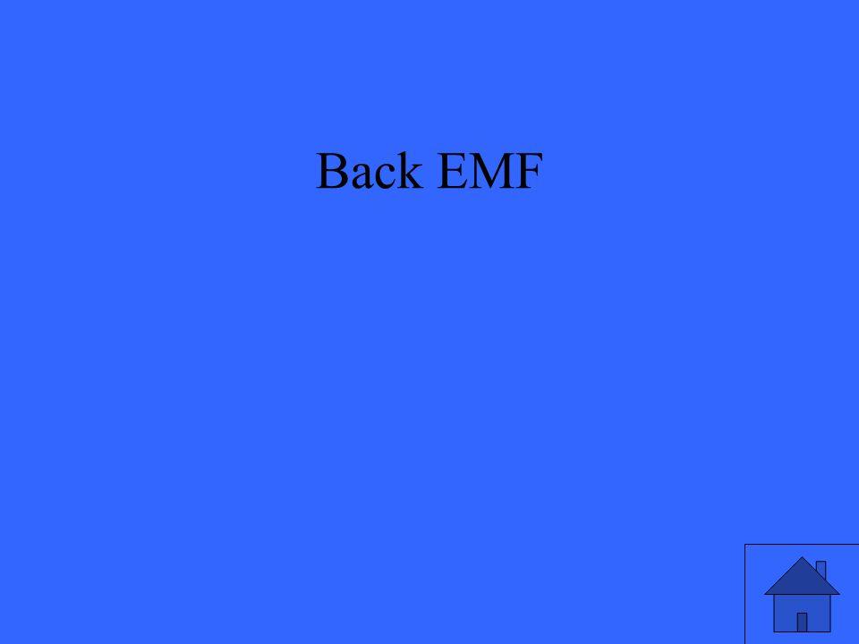 Back EMF