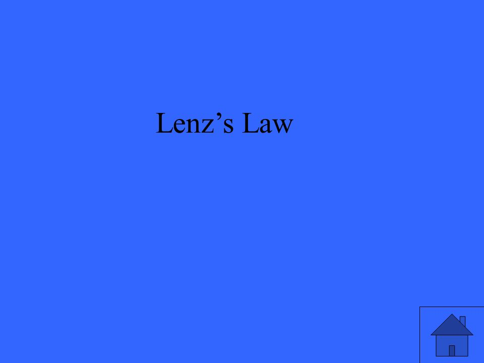 Lenzs Law