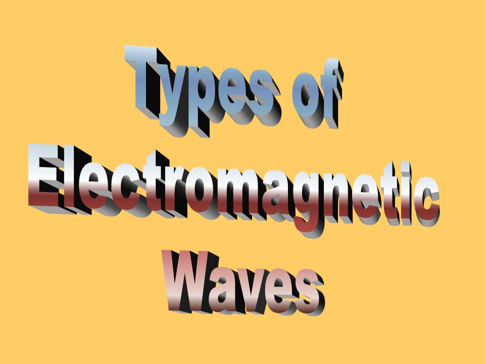 What are Electromagnetic Waves? Electromagnetic waves are just like any other wave, with one exception: They are the only type of wave that can travel