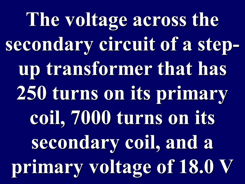 What is: increase voltage and decrease current What is: increase voltage and decrease current