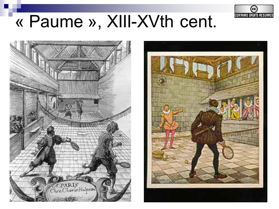 16 « Paume », XIII-XVth cent.