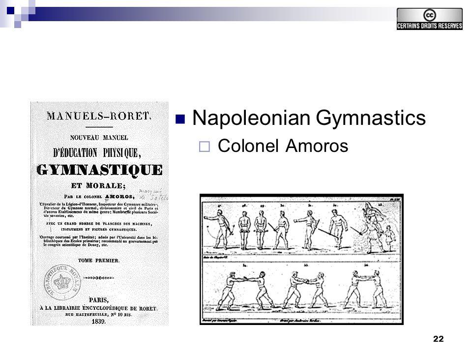 22 Napoleonian Gymnastics Colonel Amoros