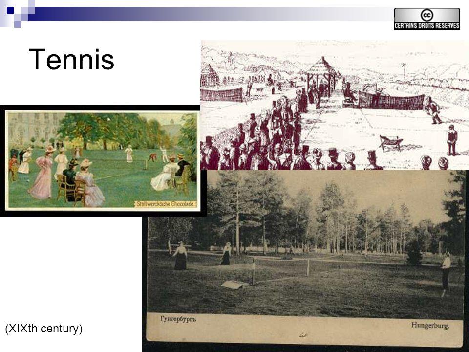 25 Tennis (XIXth century)