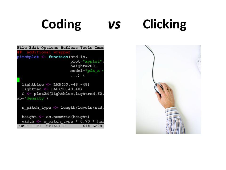CodingClicking vs