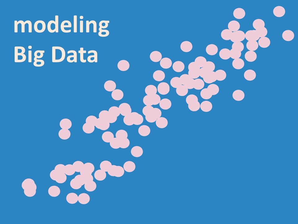 modeling Big Data