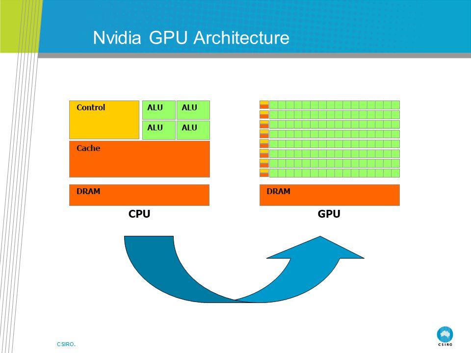 CSIRO. Nvidia GPU Architecture