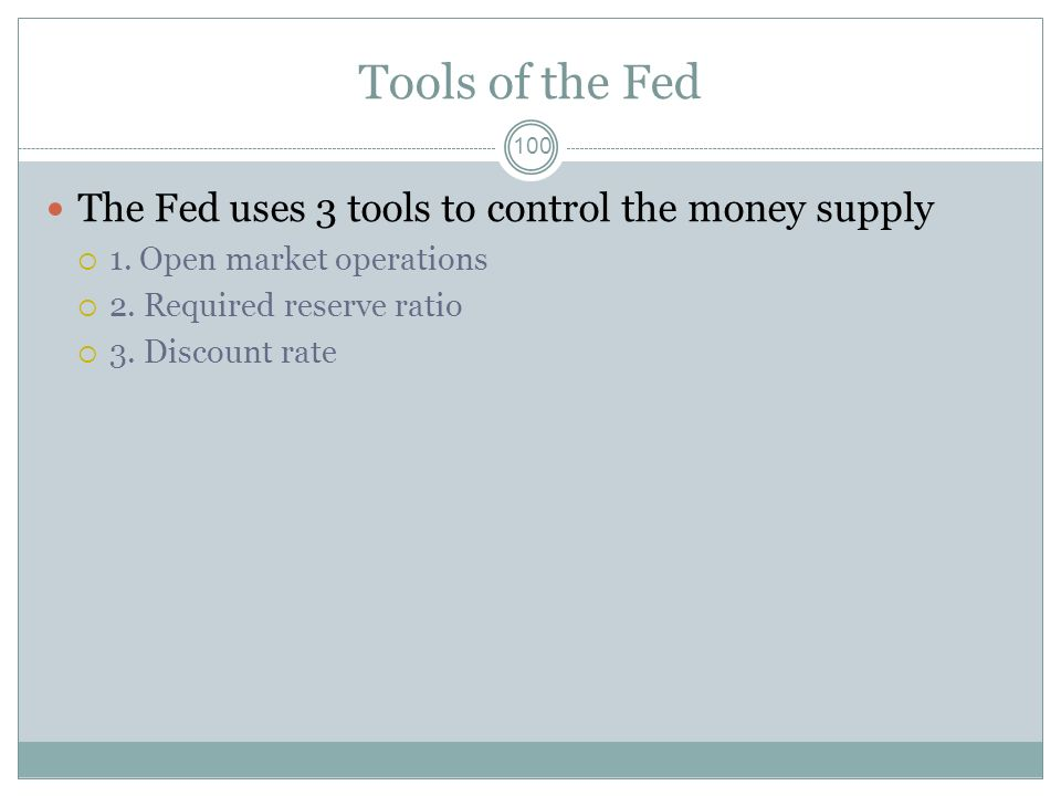 The Fed directly controls the interest rate and inflation rate. 99 A. True B. False