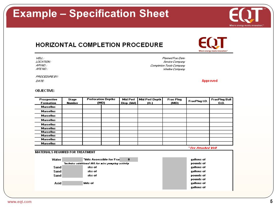 www.eqt.com 4 Example – Master Services Agreement