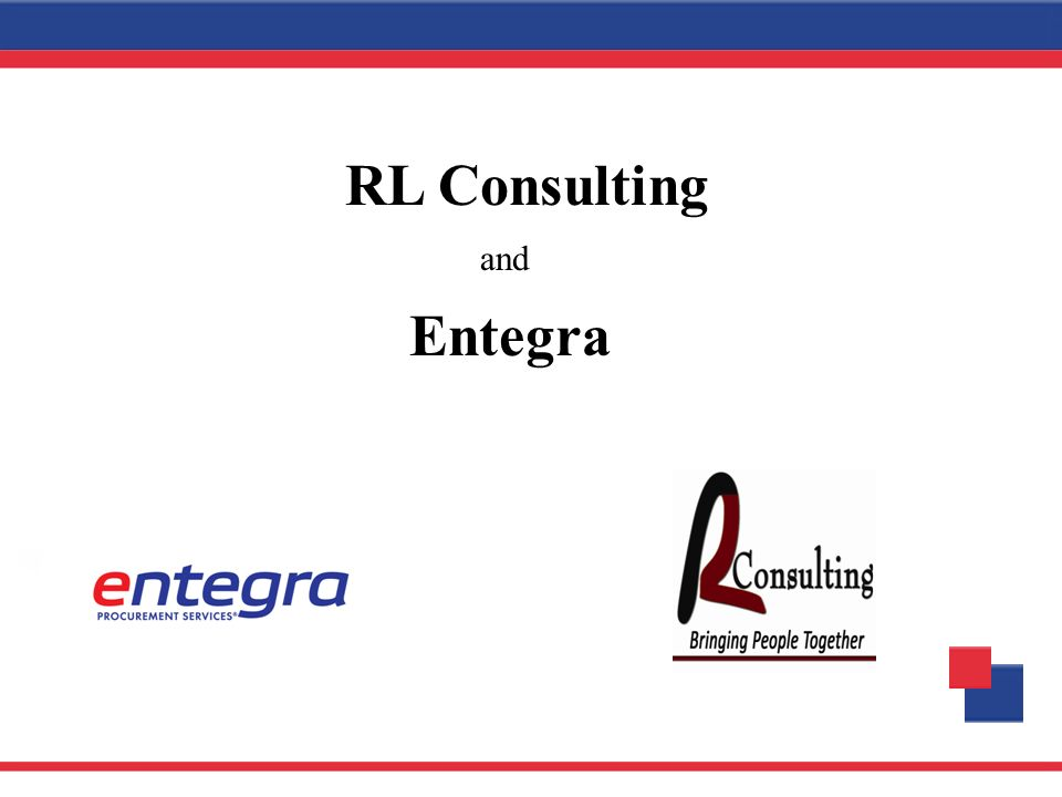 and Entegra RL Consulting