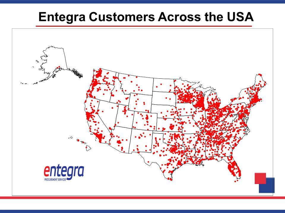 Entegra Customers Across the USA