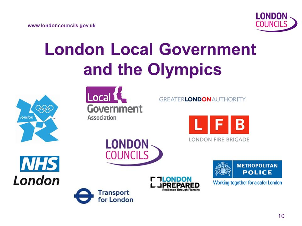 www.londoncouncils.gov.uk 10 London Local Government and the Olympics