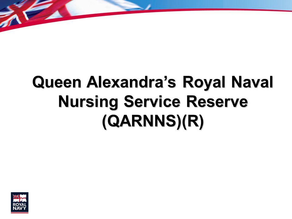 Queen Alexandras Royal Naval Nursing Service Reserve (QARNNS)(R)