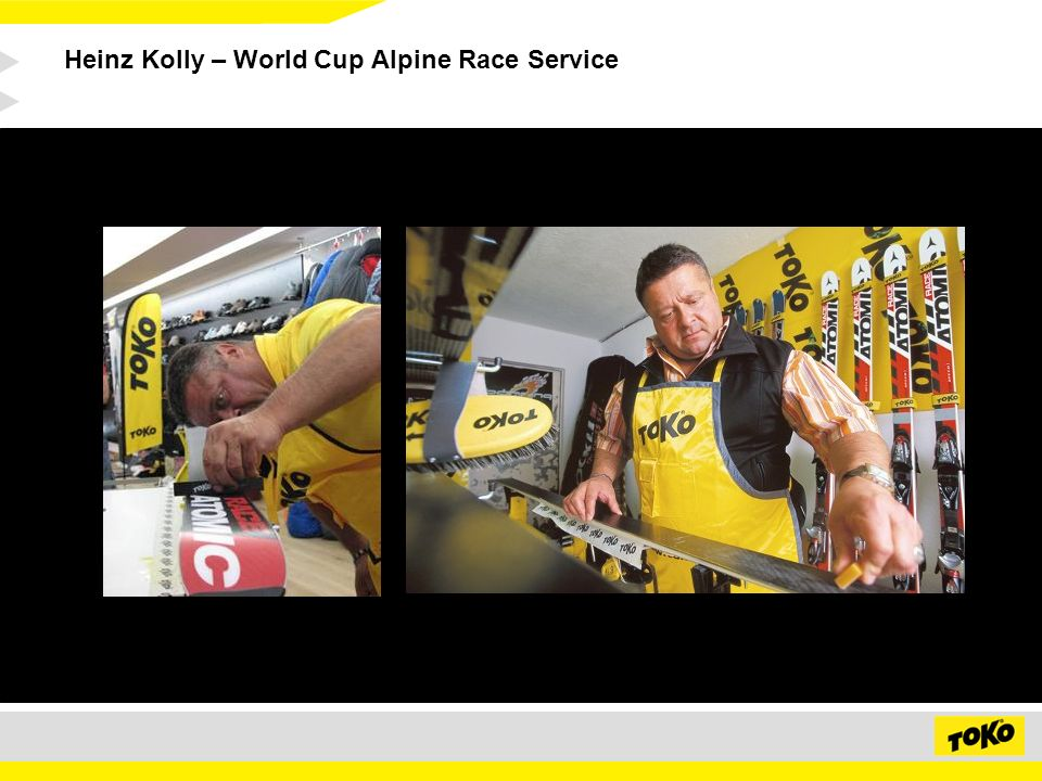 Heinz Kolly – World Cup Alpine Race Service