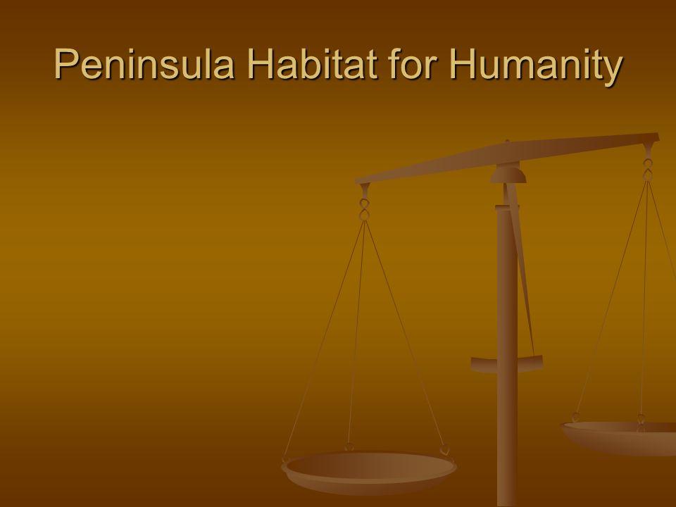 Peninsula Habitat for Humanity