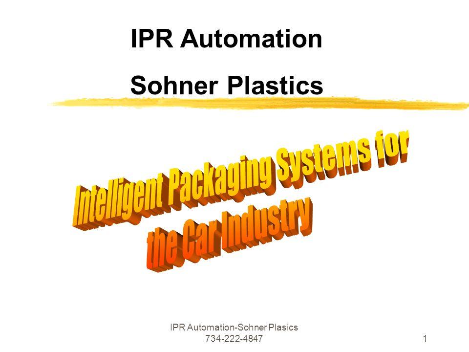 IPR Automation-Sohner Plasics 734-222-48471 IPR Automation Sohner Plastics