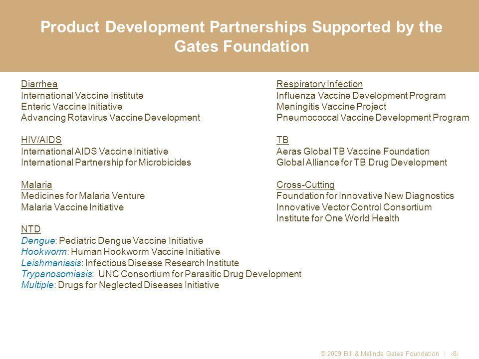 Global Health Program Payout © 2008 Bill & Melinda Gates Foundation