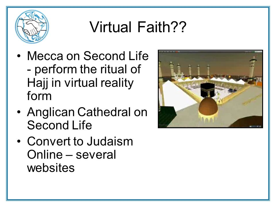 Virtual Faith .