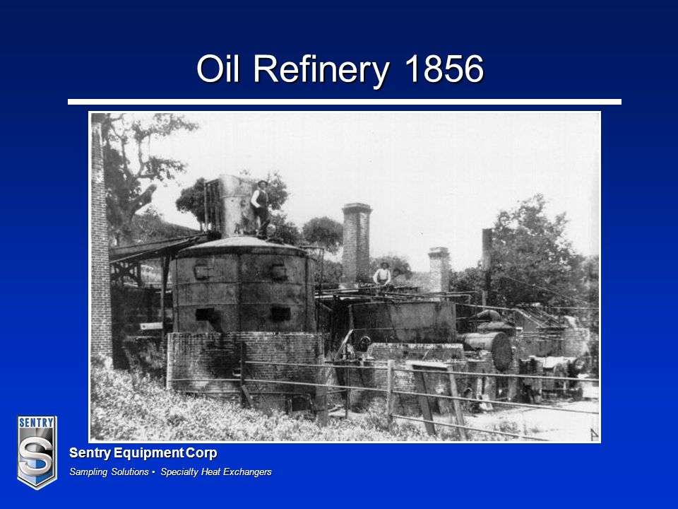 Sentry Equipment Corp Sampling Solutions Specialty Heat Exchangers Oil Refinery 1856