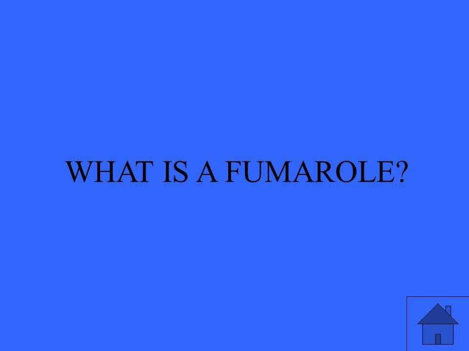 WHAT IS A FUMAROLE