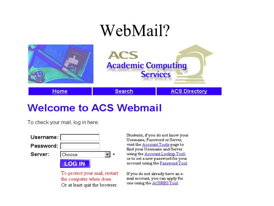 WebMail?