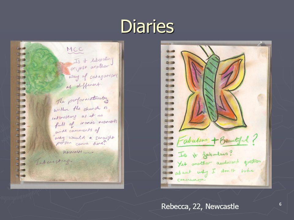 Diaries 6 Rebecca, 22, Newcastle