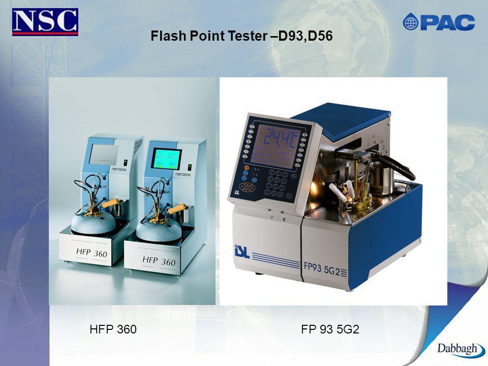 Flash Point Tester –D93,D56 HFP 360FP 93 5G2