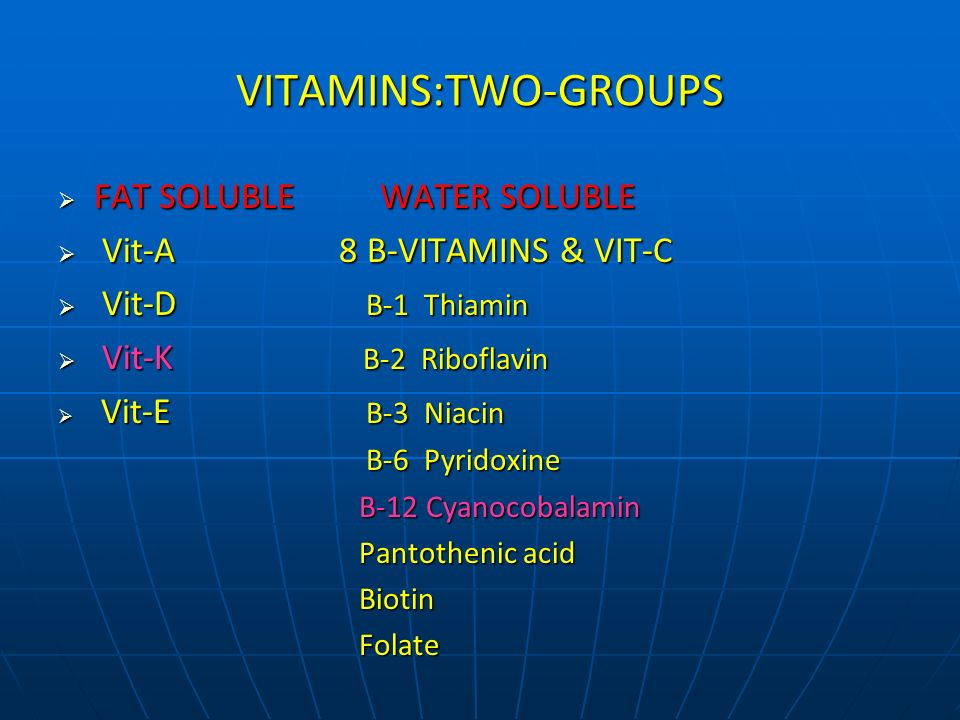 PROVITAMINS An inactive form of a vitamin that the body can convert into an active use-able form.