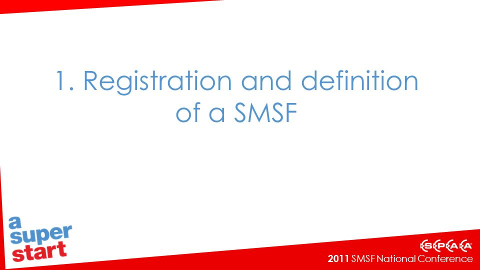 2011 SMSF National Conference Water rights Water access licence which entitles the holder to draw a specified amount of water from a waterway for irrigation purposes Likely application of s71(1)(e) to exclude certain water rights from the in-house assets of superannuation funds But unlikely to be an allowable related party acquisition under s66(2A).