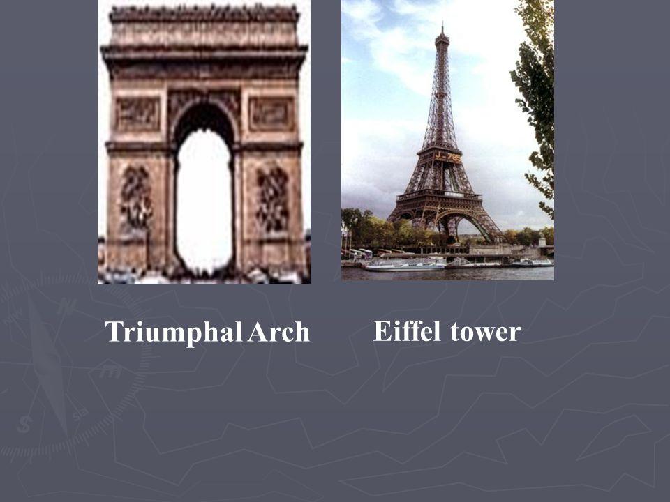 Triumphal Arch Eiffel tower
