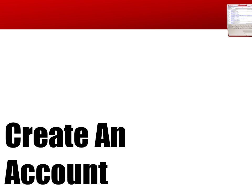 Create an Account On-Site