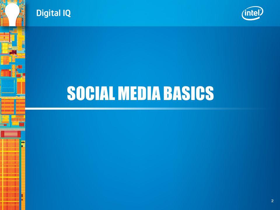 2 SOCIAL MEDIA BASICS