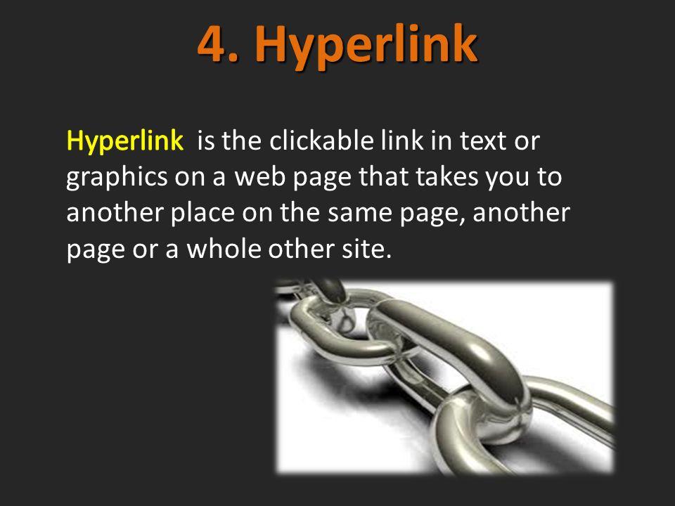 4. Hyperlink