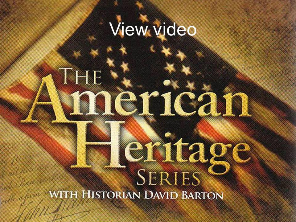 Re-Discovering Our Nations Christian Heritage View video