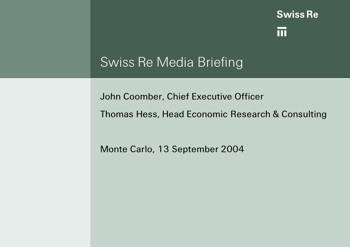 ab Page 2 Agenda WelcomeJohn Coomber Reinsurance is back to profitabilityThomas Hess Underwriting for profitJohn Coomber Media Briefing Monte Carlo 13 September 2004